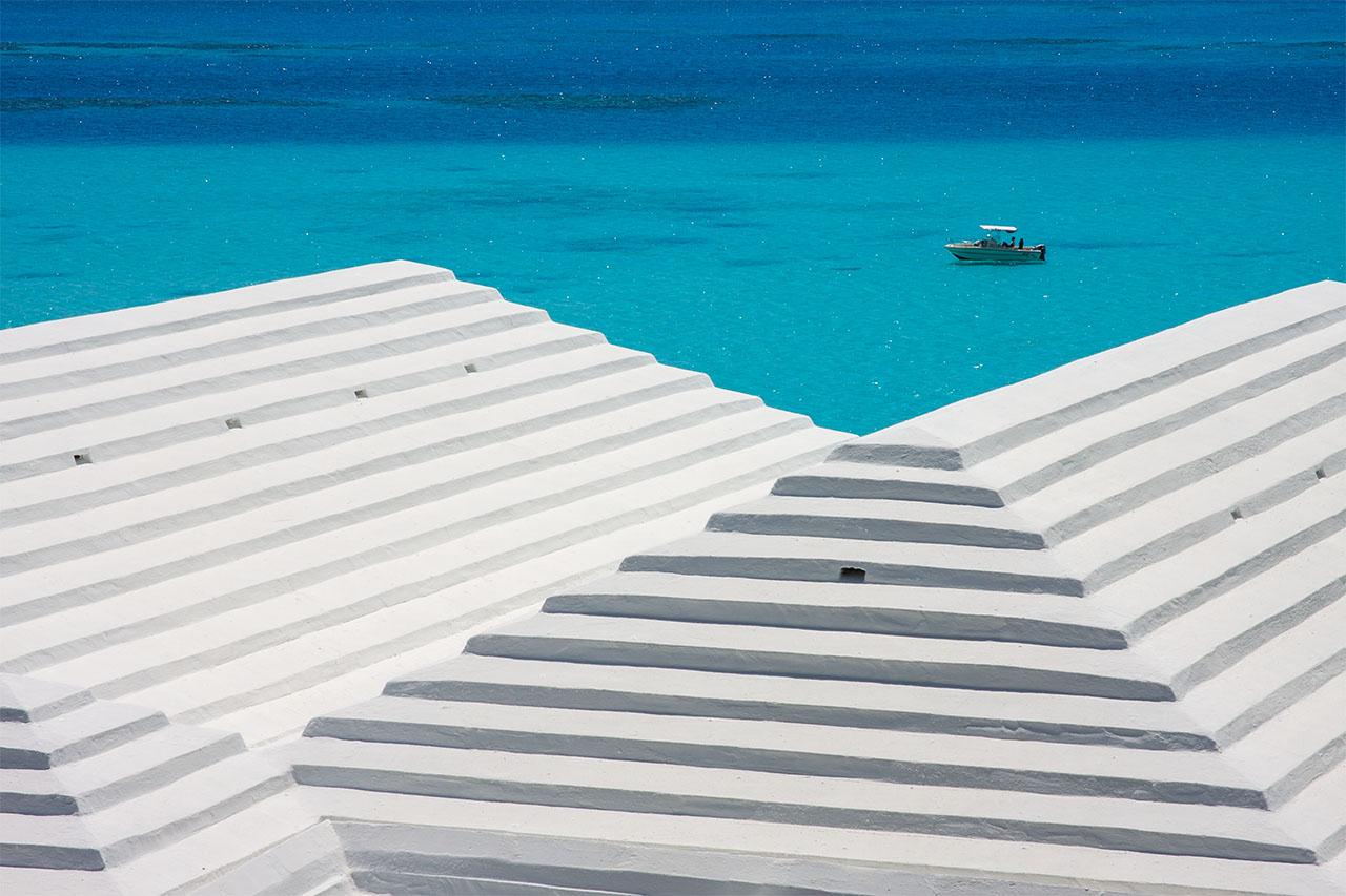 Rooftops in Bermuda